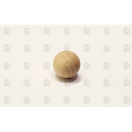 Amati 4380.12 Träkula utan hål, diameter 12 mm, 10 st