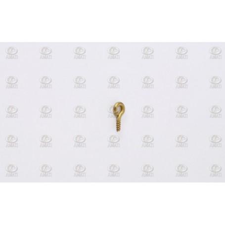Amati 4705.00 Öglebult med gänga, mässing, mått 4 x 8 mm, 24 st