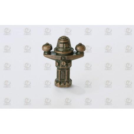Amati 4813 Nakterhus, metall, höjd 22 mm, 2 st
