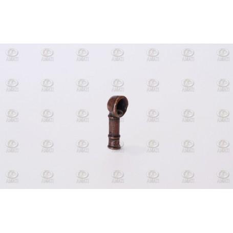 Amati 4815.20 Doradeventil, metall, höjd 20 mm, 10 st