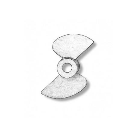 Amati 4825.70 Propeller, 2-bladig, höger, diameter 70 mm, nylon, 1 st