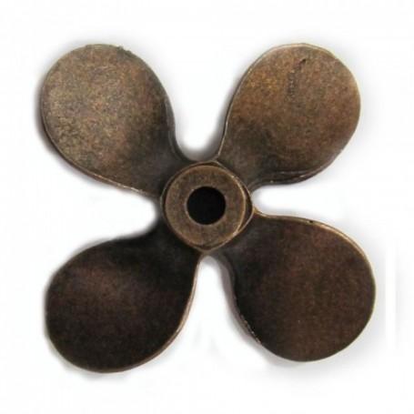 Amati 4829.61 Propeller, 4-bladig, höger, diameter 60 mm, metall, 1 st