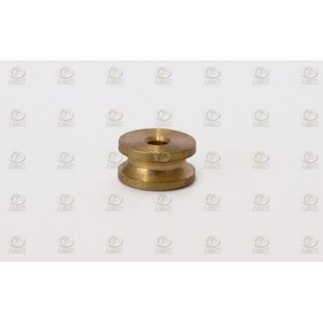 Amati 4850.06 Trissa, mässing, diameter 6.0 mm, 10 st