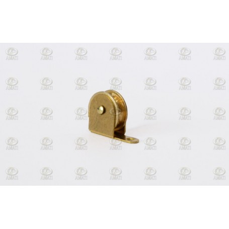 Amati 4856.06 Block, mässing, mått 8 x 6.5 mm, 10 st