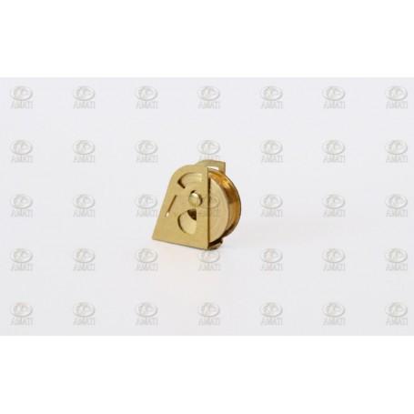 Amati 4856.10 Block, mässing, höjd 7 mm, 10 st
