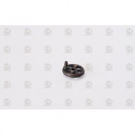 Amati 4870 Ventilhjul, metall, diameter 4.5 mm, 10 st