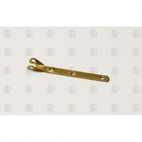 Amati 4905.01 Röstjärn för vantskruv, mässing, längd 20 mm, 10 st