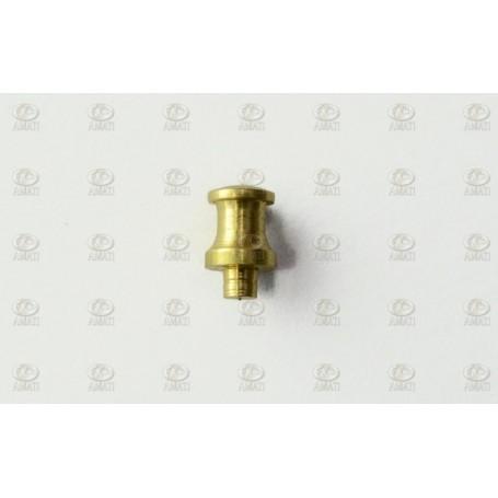 Amati 4909.01 Pollare, mässing, höjd 7 mm, 10 st