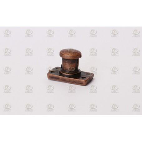 Amati 4909.04 Pollare med bas, metall, höjd 8 mm, 10 st