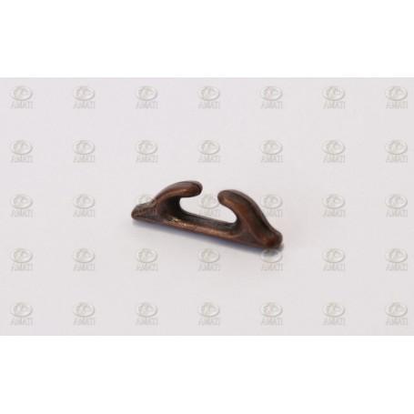 Amati 4920.12 Halkip, metall, brunierad, längd 12 mm, 10 st