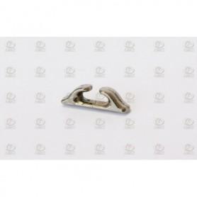 Amati 4925.14 Halkip, krompläterad metall, längd 14 mm, 10 st