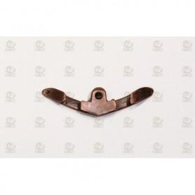 Amati 4929 Halkip, dubbel, metall, längd 30 mm, 10 st
