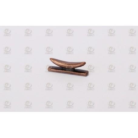 Amati 4935.07 Knap, metall, längd 7 mm, 10 st