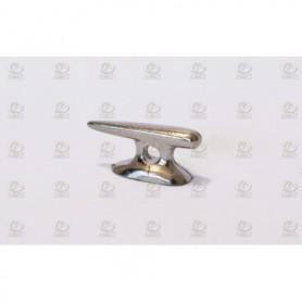 Amati 4937.15 Knap med hål, nickelpläterad metall, längd 15 mm, 10 st