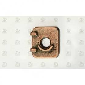 Amati 4938.12 Lucka, metall, mått 11 x 12 mm, 10 st