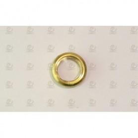 Amati 4940.12 Porthål, mässing, med glas, diameter 12 mm, 10 st