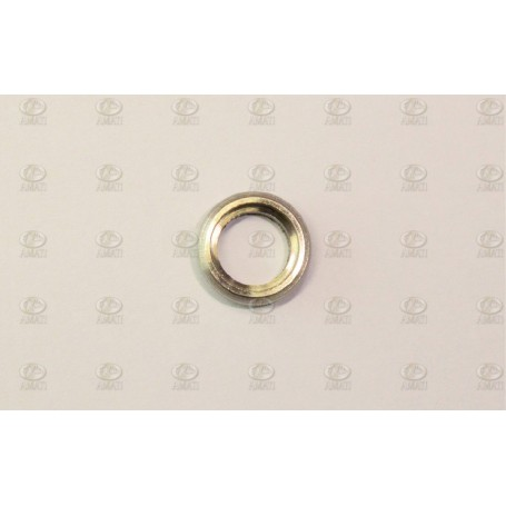 Amati 4942.12 Porthål, nickelpläterad metall, utan glas, diameter 12 mm, 10 st