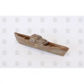 Amati 4977 Båt, plast, längd 65 mm, 1 st