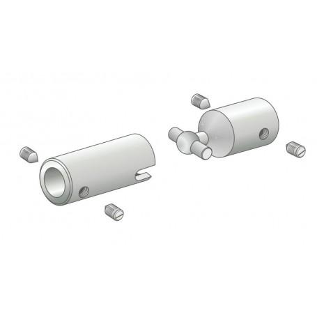 Amati 6561.02 Skarv, metall, diameter 2 mm, 1 st