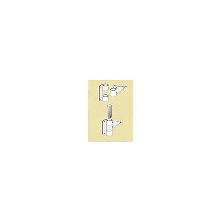 Amati 6041.02 Gångjärn, mässing, dubbel, mått 10 mm, 1 st