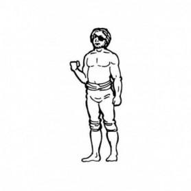 Amati 8008.03 Figur, sjöman, omålad, metall, höjd 35 mm, 1 st
