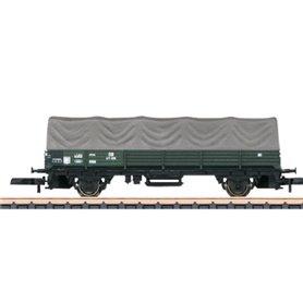 Märklin 00068 Öppen godsvagn med pressening typ DB 471 978