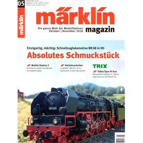 Märklin 298134 Märklin Magazin 5/2018 Tyska