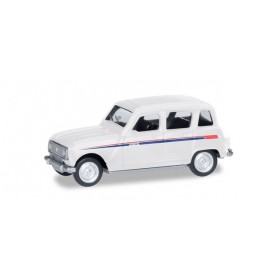 Herpa 030199 Renault R4 'Jogging', stripes red|blue