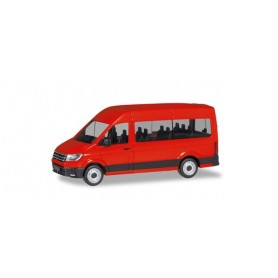 Herpa 094252 VW Crafter Bus high Roof, red