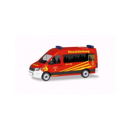 Herpa 094269 VW Crafter Bus high roof 'Officer in Charge Liebenburg | Goslar fire department'