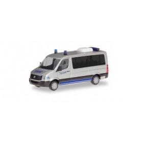 Herpa 094306 VW Crafter Bus flat roof 'MTW ESS THW Achim'