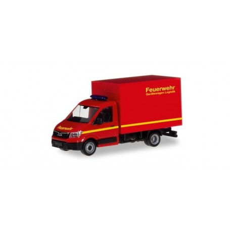 Herpa 094320 MAN TGE box truck 'Fire Department'