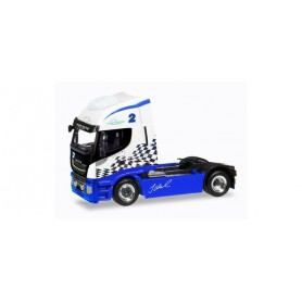 Herpa 309639 Iveco Stralis Highway XP rigid tractor 'Hahn Racing'