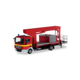 Herpa 309721 MAN TGL ruthmann steiger 'fire Department'