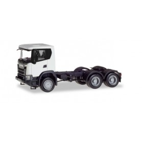 Herpa 309745 Scania CG 17 6x6 rigid tractor, white