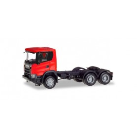 Herpa 309752 Scania CG 17 6x6 rigid tractor, red