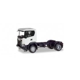 Herpa 309769 Scania CG 17 4x4 rigid tractor, white