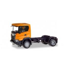 Herpa 309776 Scania CG 17 4x4 rigid tractor, orange