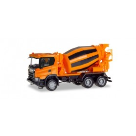 Herpa 309783 Scania CG 17 6x6 concrete truck, municipal orange