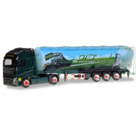 Herpa 309806 Volvo FH GL XL FFB silo semitrailer 'Spedition Freund'
