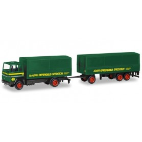 Herpa 309820 Ford Transconti canvas trailer 'Offergeld'