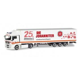Herpa 309851 MAN TGX XLX semitrailer ?Johanniter LV Bayern | Weihnachtstrucker?