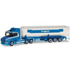 Herpa 309868 Scania Hauber silo semitrailer 'Forsgard' (S)