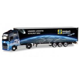 Herpa 309875 Volvo FH GL XL curtain canvas semitrailer 'Steinbach Logistik'