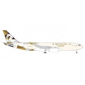 Herpa Wings 532716 Flygplan Etihad Cargo Airbus A330-200F
