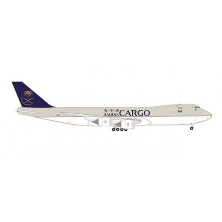 Herpa 532891 Flygplan Saudia Cargo Boeing 747-8F