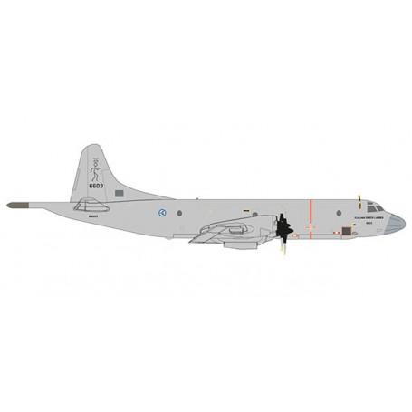 Herpa 532907 Flygplan Norwegian Air Force Lockheed P-3N Orion - 133 Air Wing, 333 Squadron, Andoya Air Station ? 6603 ?Hjalma...
