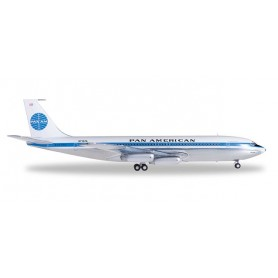 Herpa Wings 556835-001 Flygplan Pan American World Airlines Boeing 707-320 'Jet Clipper Liberty Bell'