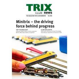 Trix CLUB52018 Trix Club 05/2018, magasin från Trix, 23 sidor i färg, engelska