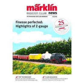 Märklin INS52018 Märklin Insider 05/2018, magasin från Märklin, 23 sidor